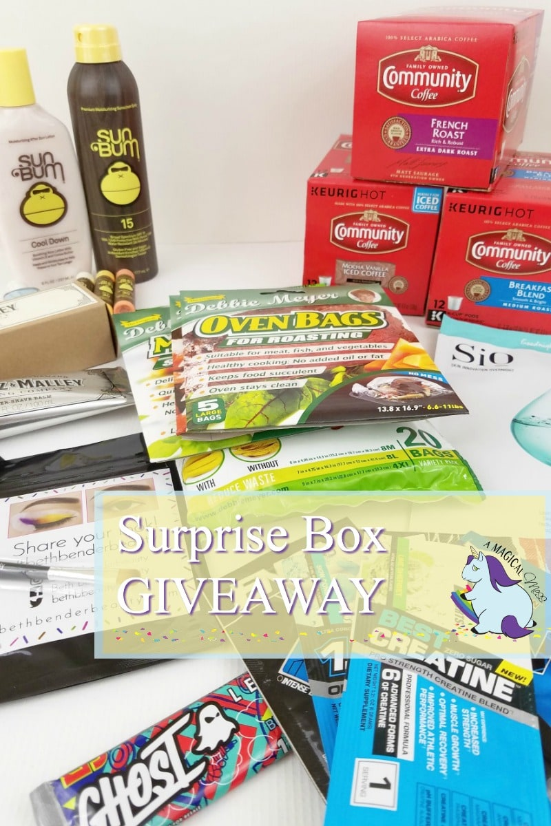 Monthly Surprise Box Unboxing and Giveaway
