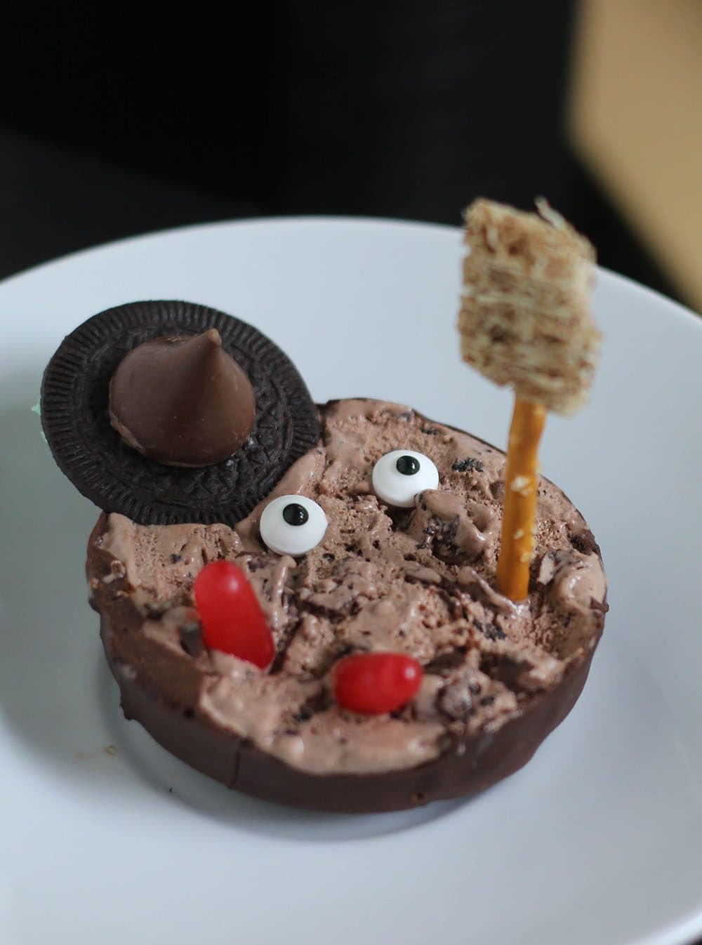 Ice Cream Melted Witch Treat