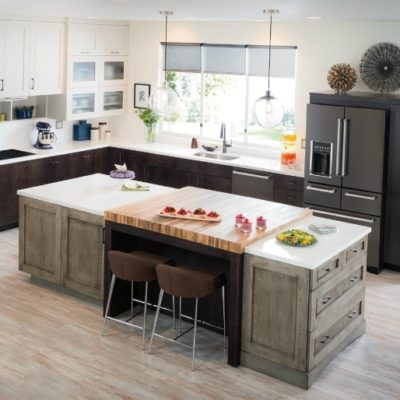 Black Stainless Steel Appliances for a Sharp Kitchen Makeover
