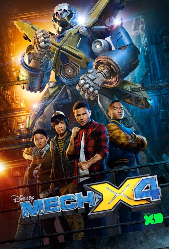 Disney XD Mech-X4 #DoctorStrangeEvent #FindingDoryBluray #BenandLaurenEvent #MechX4Event