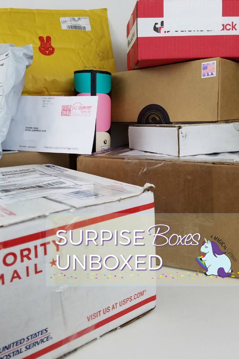 Round 6 - 12 Surprise Unboxings Giveaway