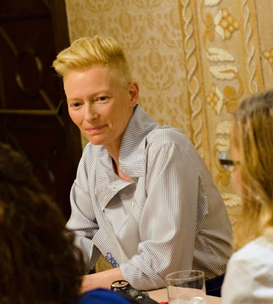 Interview with Tilda Swinton as The Ancient One in Doctor Strange #DoctorStrangeEvent