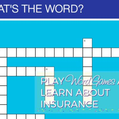 Play Word Games To Make Health Insurance Easy