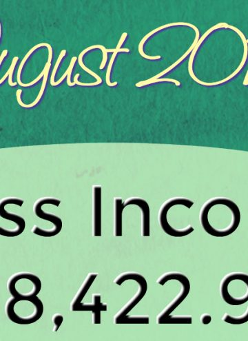 Monthly Blog Income Report – August 2016