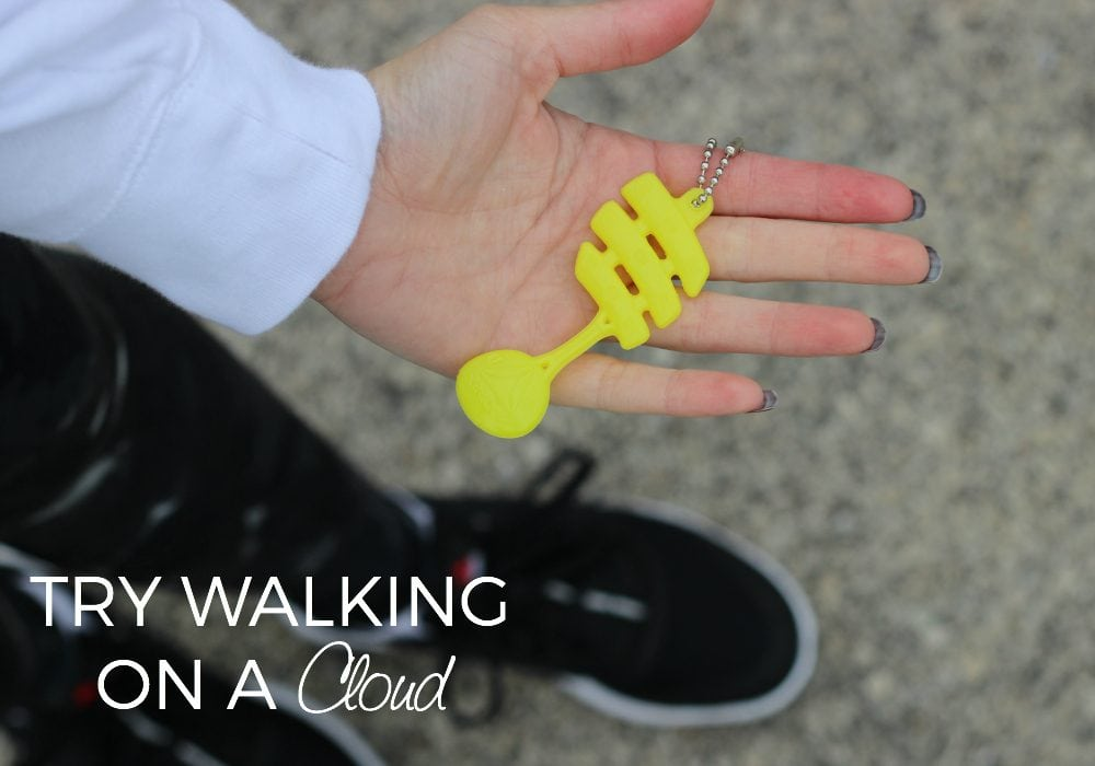 Best walking shoes ever! Like walking on a cloud! #ReeboxCloudRide #IC ad