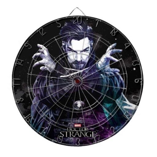 Doctor Strange Dart Board! So cool! AD