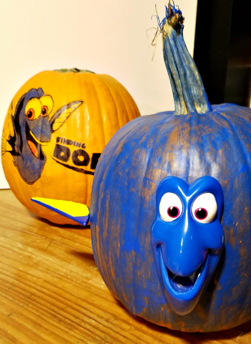 Finding Dory Pumpkin Carving Like a BOSS #FindingDoryBluray