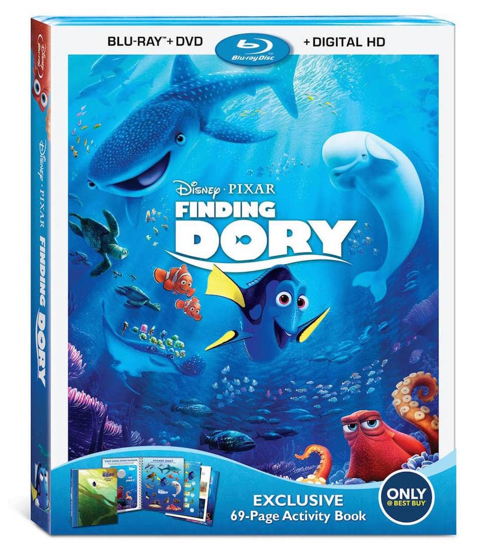 Disney Finding Dory BluRay release #DoctorStrangeEvent #FindingDoryBluray
