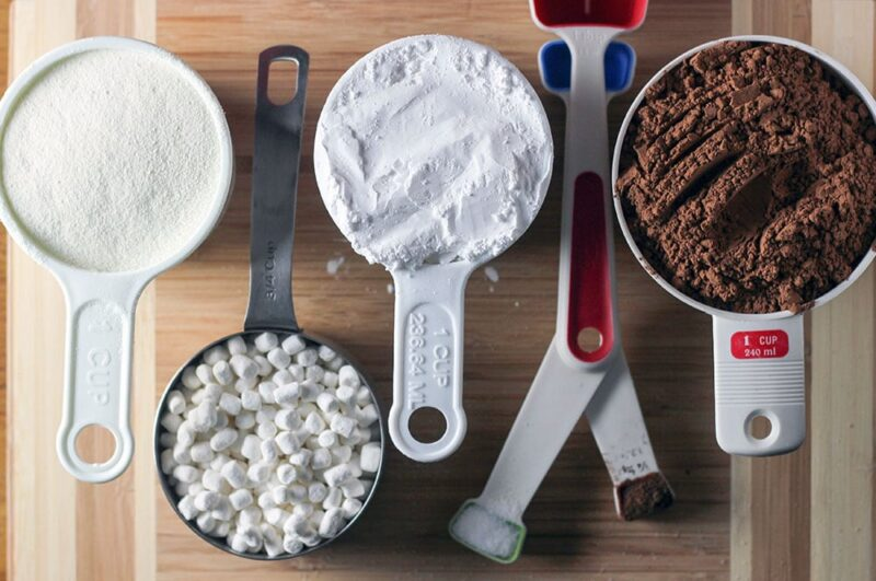 Homemade Hot Cocoa Mix Ingredients