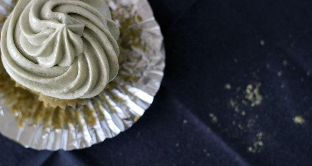 Green Tea Matcha Cupcake Recipe with Matcha Frosting