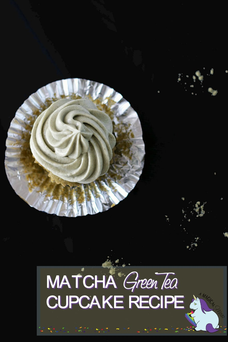 Green Tea Matcha Cupcake with Matcha Frosting