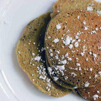 Matcha Green Tea Pancakes Recipe