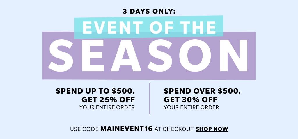 Huge Shopbop Sale - Main Event sale