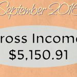 Monthly Blog Income Report – September 2016