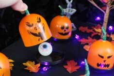 DIY Trick or Treat Game – Mini Pumpkin Surprise