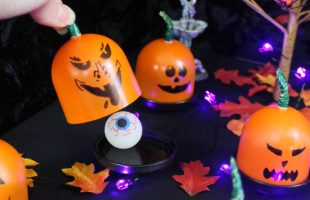 DIY Trick or Treat Game - Mini Pumpkin Surprise