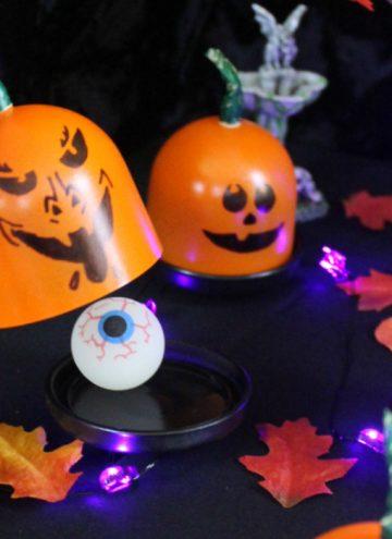 DIY Trick or Treat Game - Mini Pumpkin Surprise