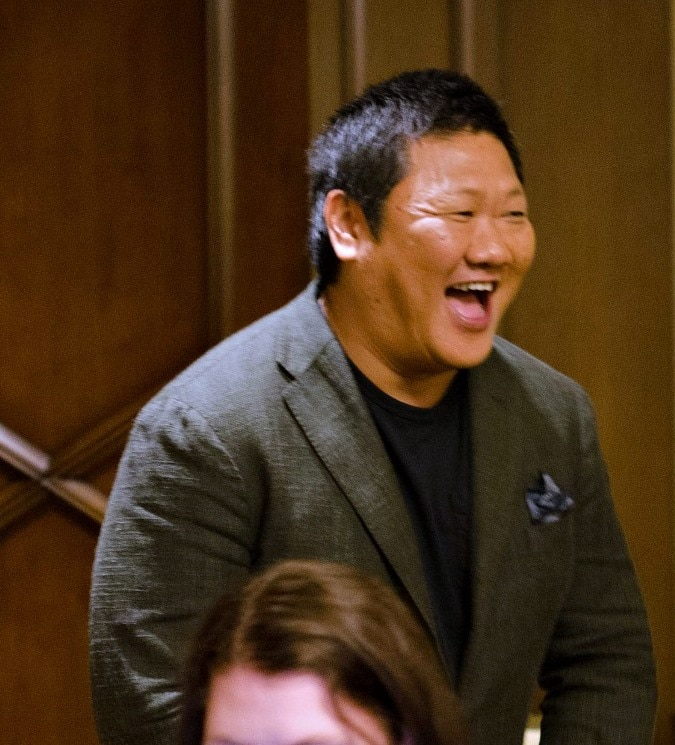 The Funniest DOCTOR STRANGE Character Off Set - Benedict Wong #DoctorStrangeEvent