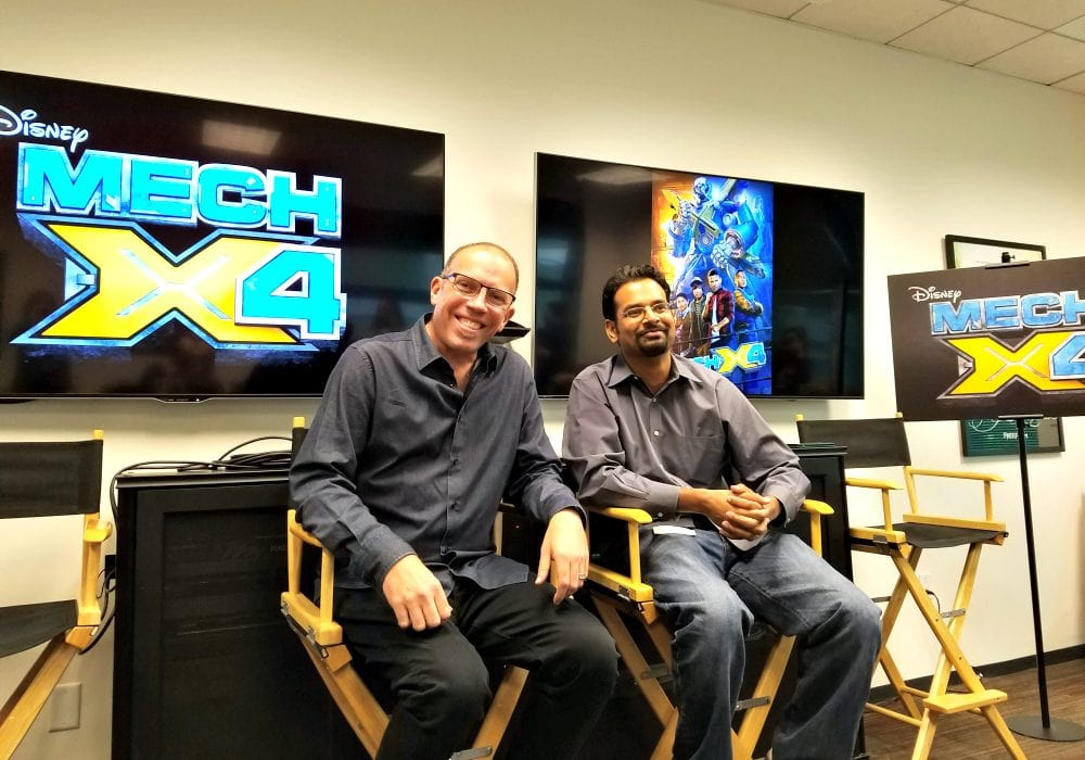 Awesome New Addition to Disney XD Shows - MECH-X4 Executive Producers Interviews #MECHX4Event