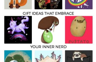 Where to Buy the Best Nerdy T-Shirts this Holiday Season #TheGiftGuiders