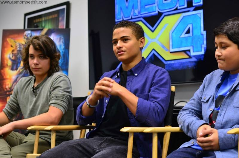 Nathaniel Potvin - Awesome New Addition to Disney XD Shows - MECH-X4 Cast Interviews #MECHX4Event