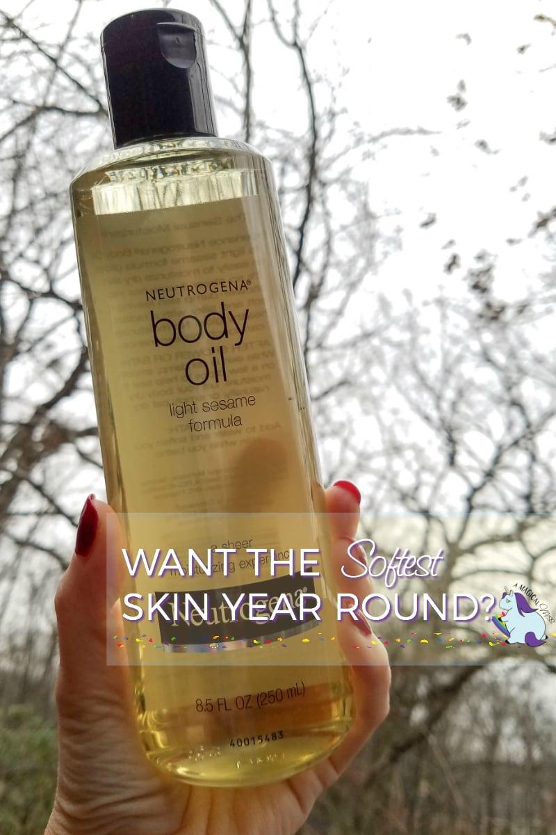 Skin care in winter is easy with Neutrogena #BodyOil #IC AD