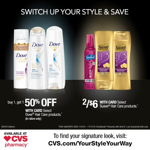 Savings at CVS