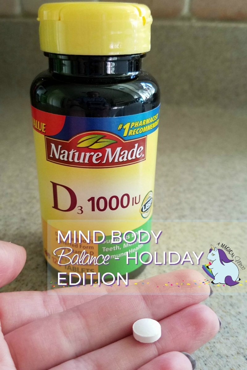 How To Stay Focused and Motivated this Holiday Season #NatureMadeatWalmart #IC AD