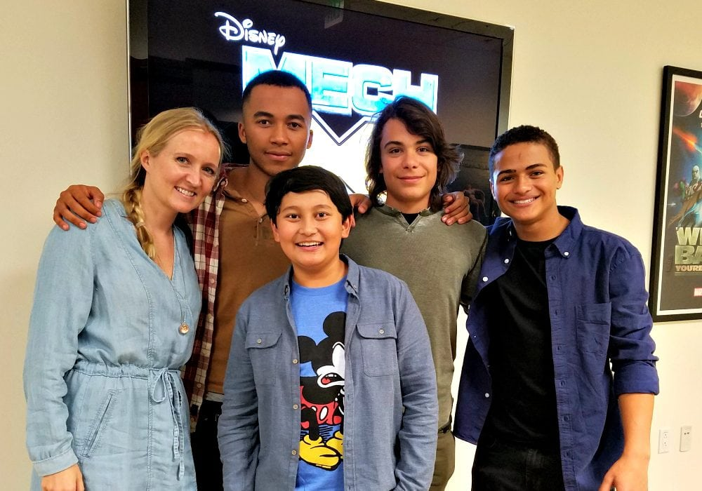 Awesome New Addition to Disney XD Shows - MECH-X4 Cast Interviews #MECHX4Event