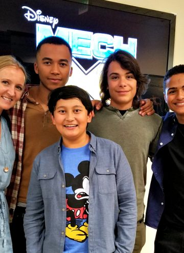 Awesome New Addition to Disney XD Shows – MECH-X4