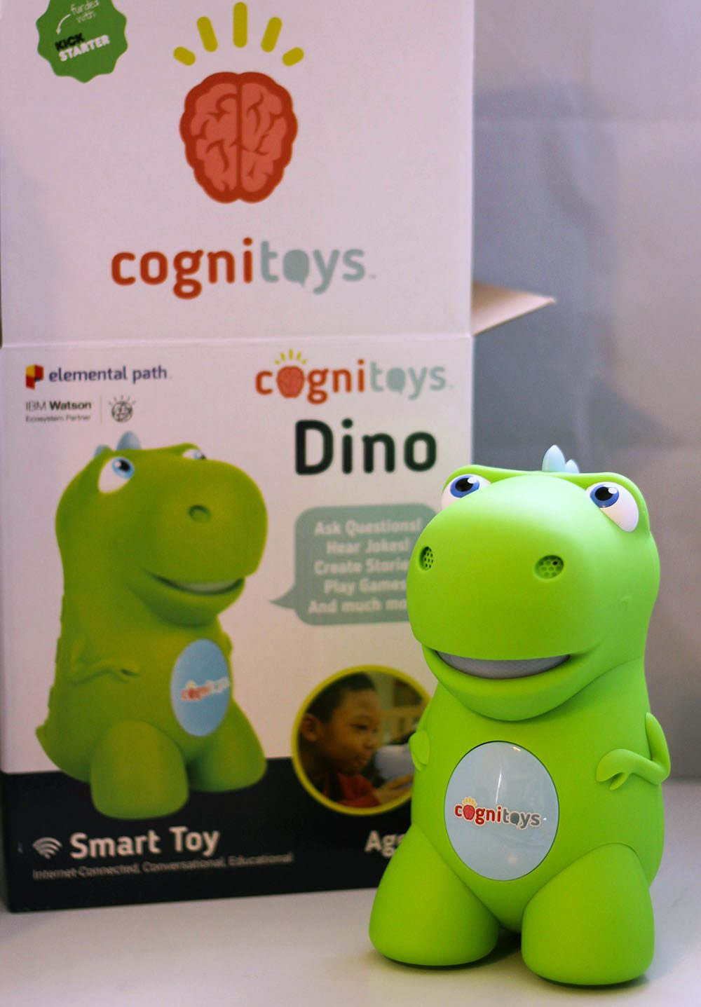 CogniToys Dino interactive smart toy to teach, entertain, and interact with kids