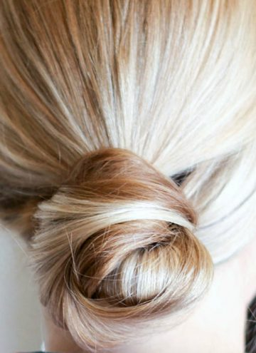How to Get Silky Smooth Hair for an Updo