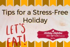 Easy Holiday Meal Options and Tips for Stress Free Family Time #BEHolidayHelp AD