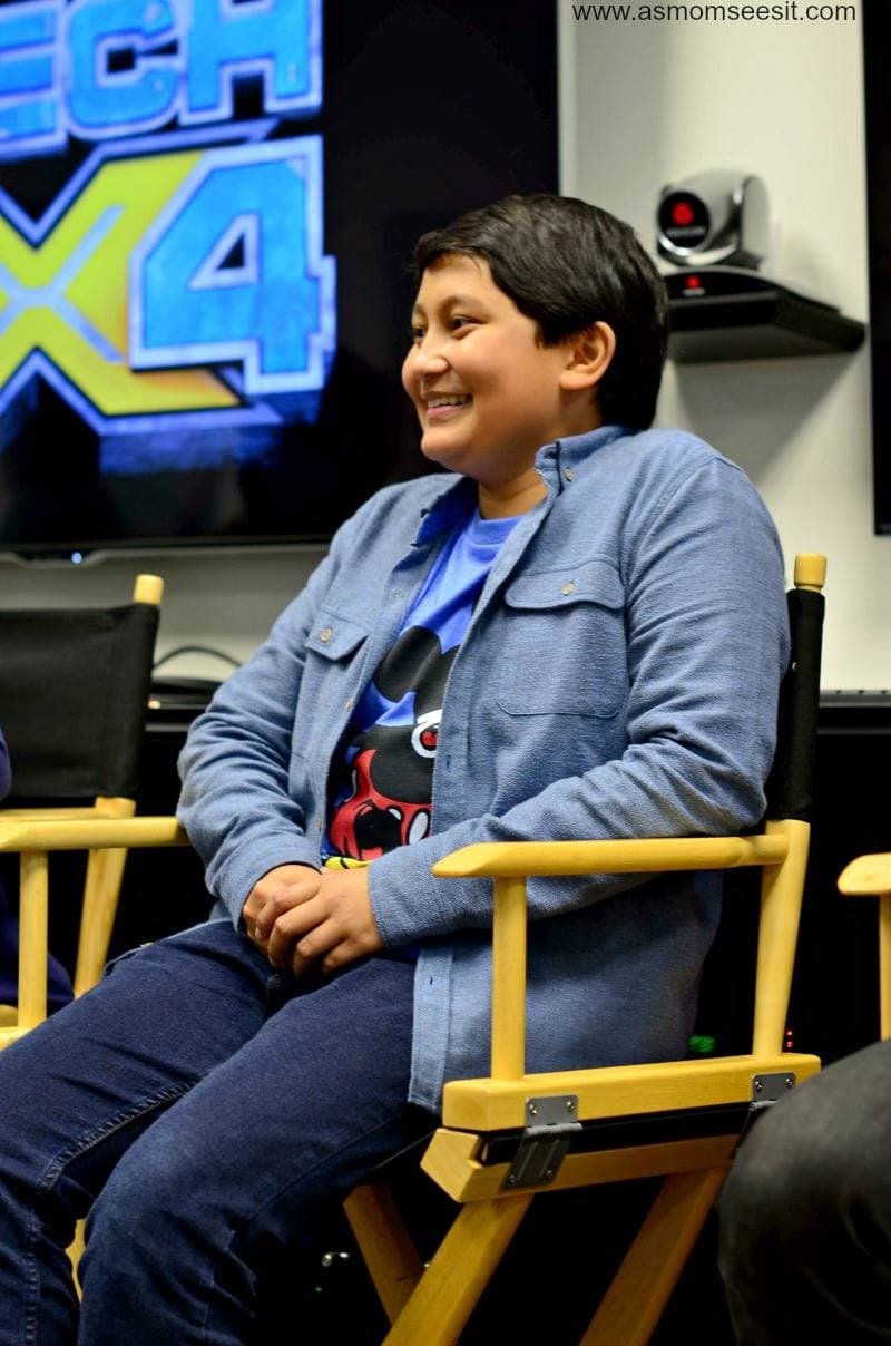 Kamran Lucas - Awesome New Addition to Disney XD Shows - MECH-X4 Cast Interviews #MECHX4Event
