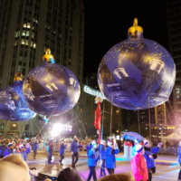 All the Best Parts of the Lights Festival in Chicago - Magnificent Mile 25th Anniversary Lights Festival #BMOLF #LightsFestival AD