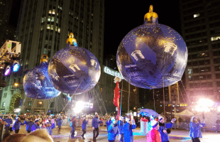 All the Best Parts of the Lights Festival in Chicago