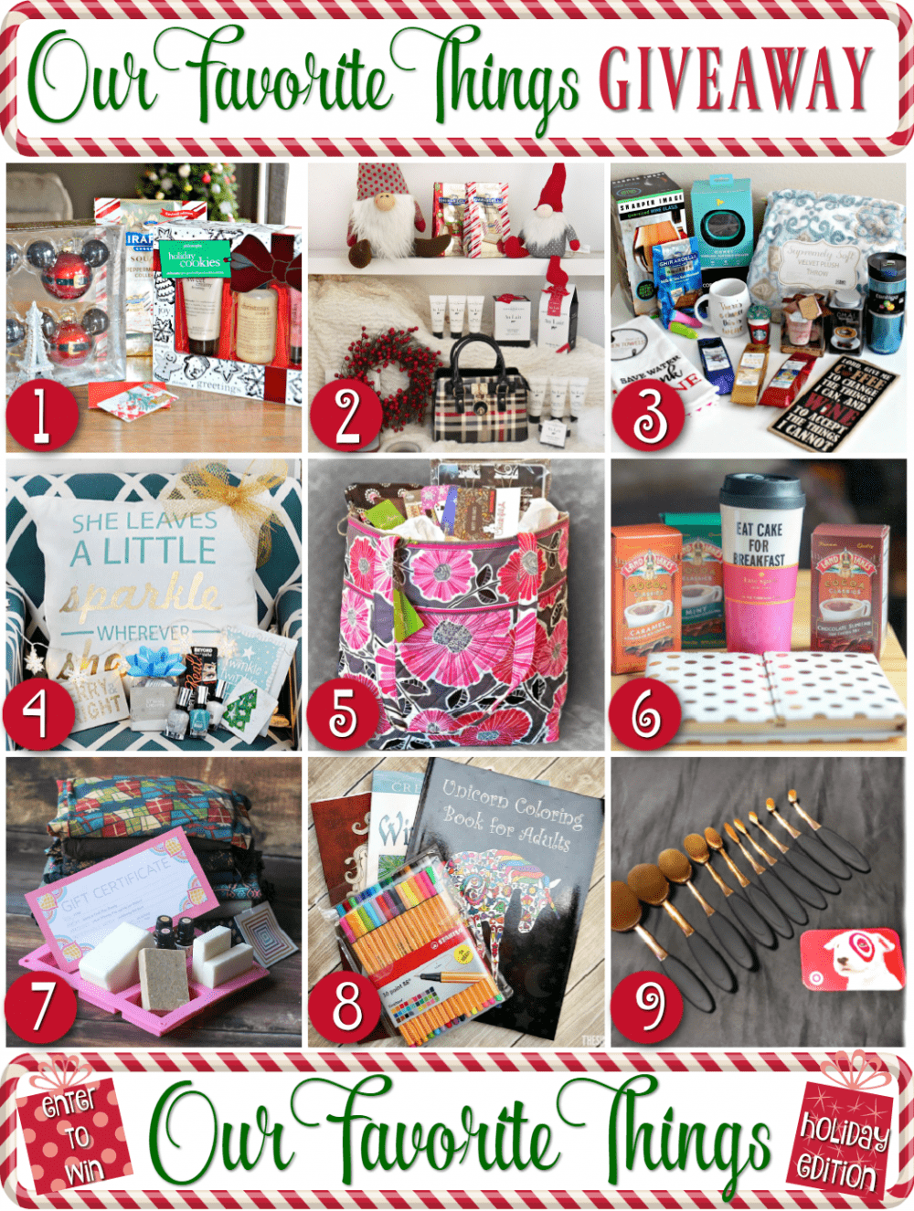 My Favorite Things - Reader Appreciation Giveaway