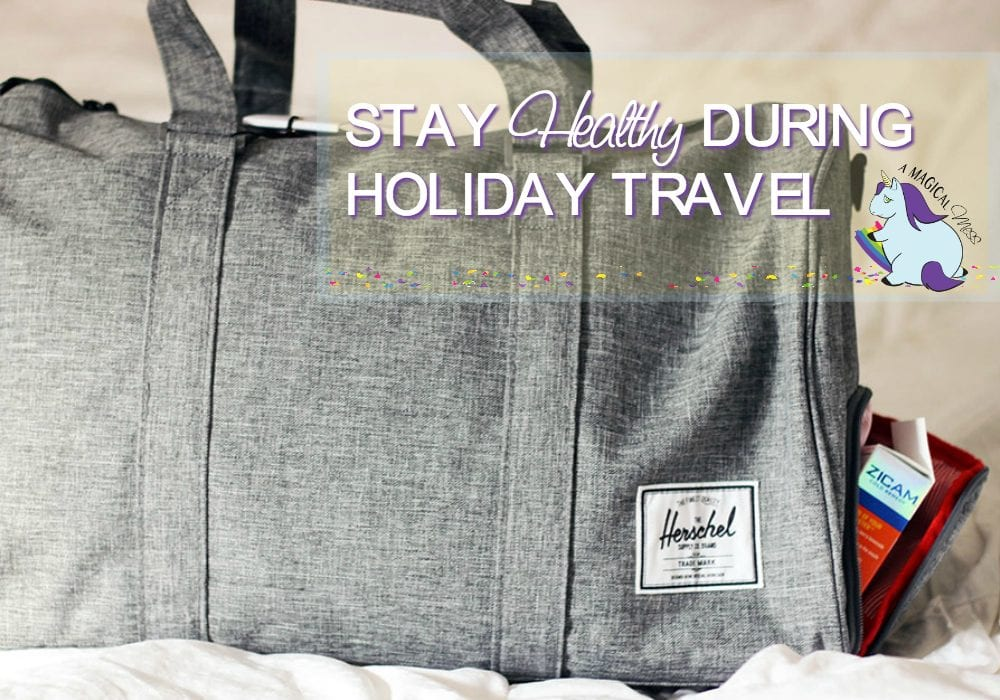 Staying healthy while traveling around the holidays