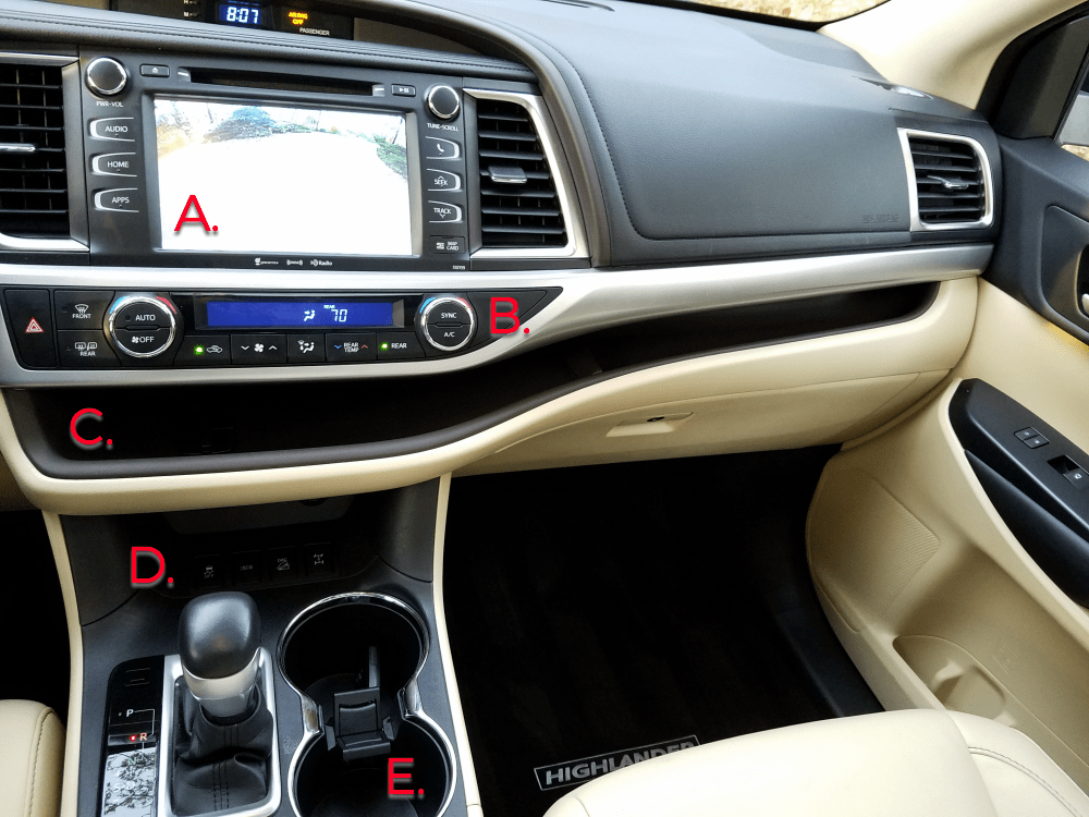 Favorite Features Of The 2016 Toyota Highlander Xle Best Suv For S