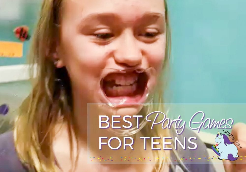 Funniest party games for teens and tweens