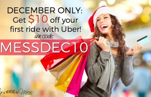 Uber coupon code save $10 on your first ride this December!