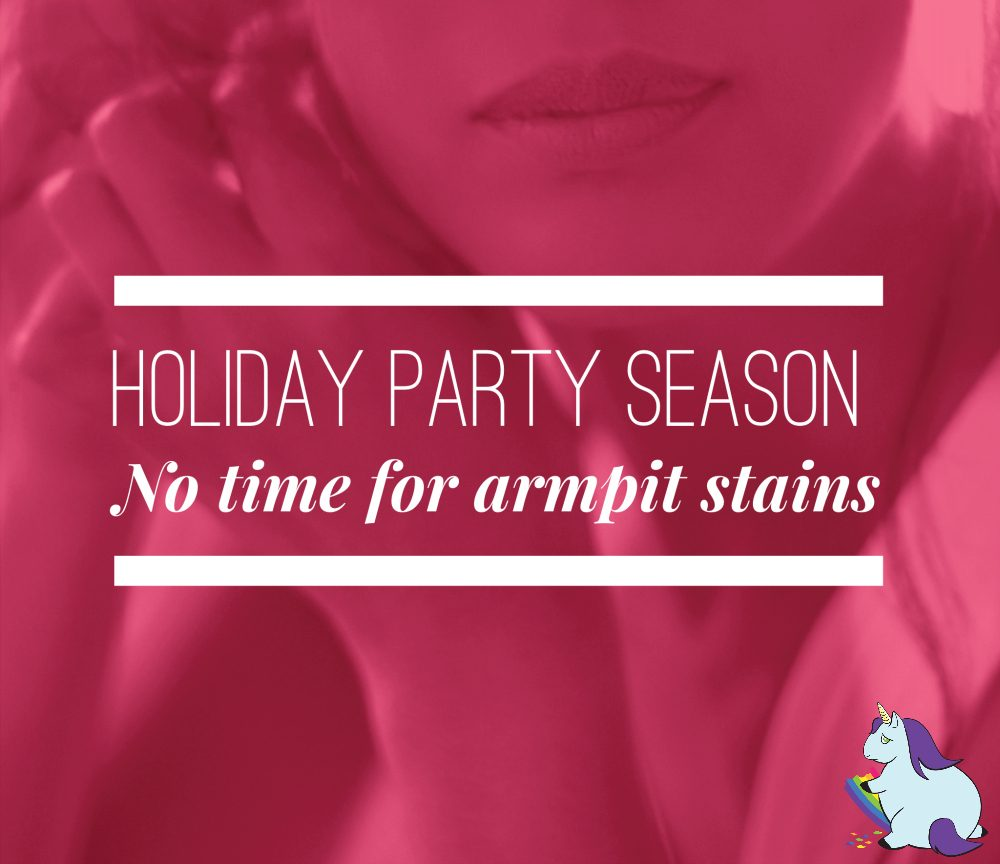 Prevent Yellow Armpit Stains and Create a Party Pack