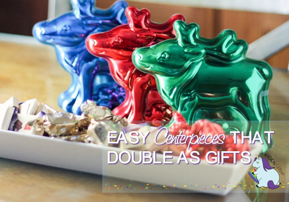 Simple Holiday Centerpieces that Double as Gifts