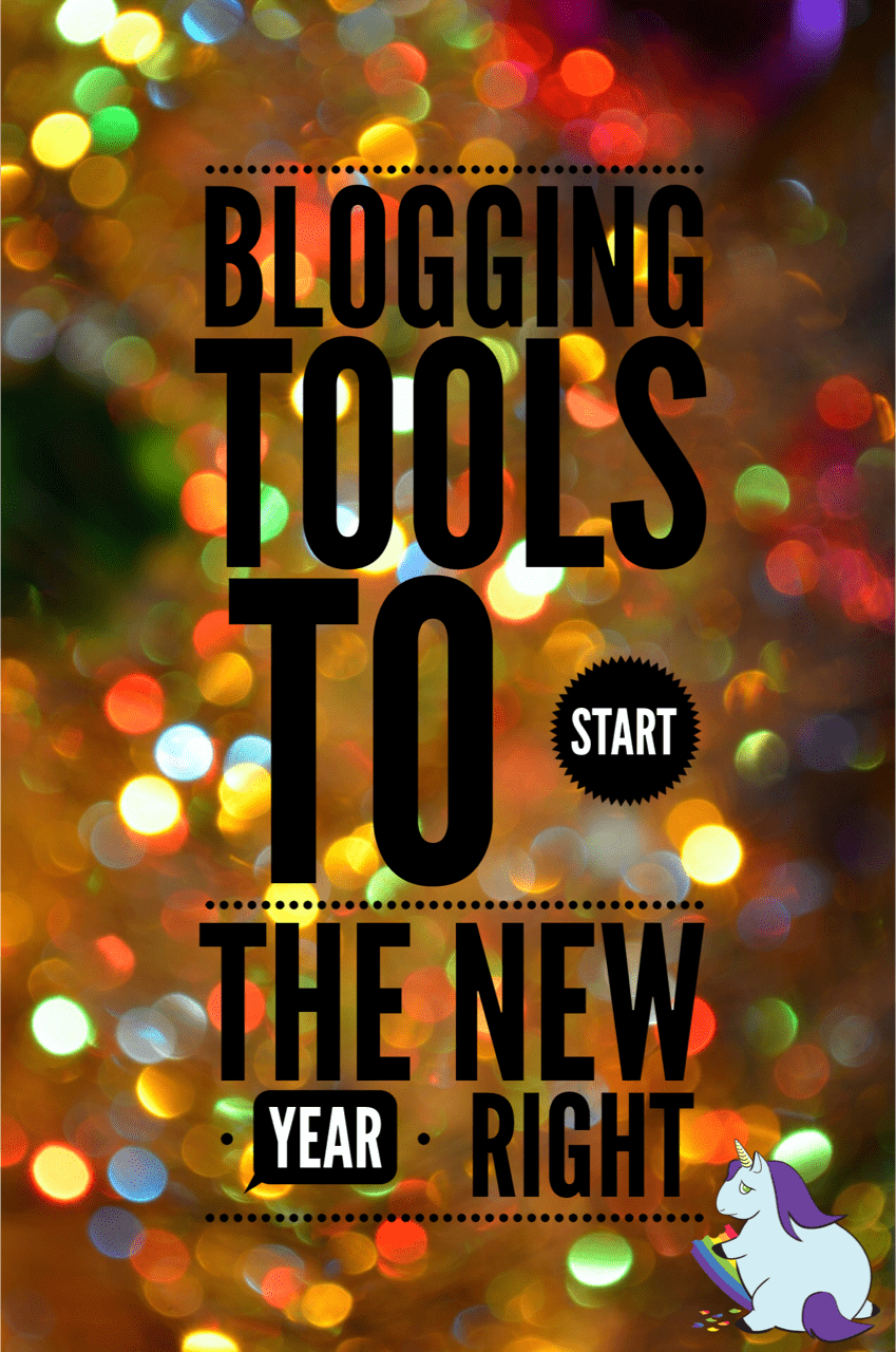 Blog Tools to Start the New Year and Write-off Now