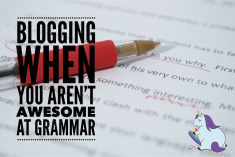 How to Blog if you Suck at Grammar – 5 Tools to Help