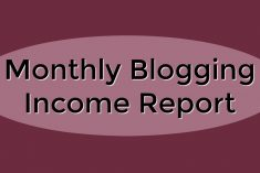 Monthly Blog Income Report - October 2016