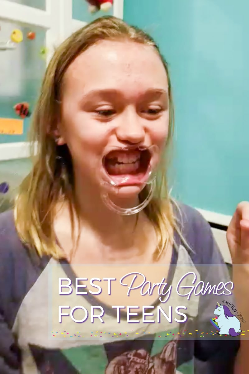 Speak Out Game - Funniest birthday party games for teens and tweens