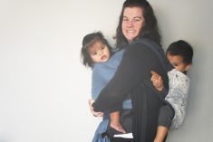 Life with Baby is Easier with Babywearing