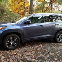 2016 Toyota Highlander XLE - Best SUV for Teens