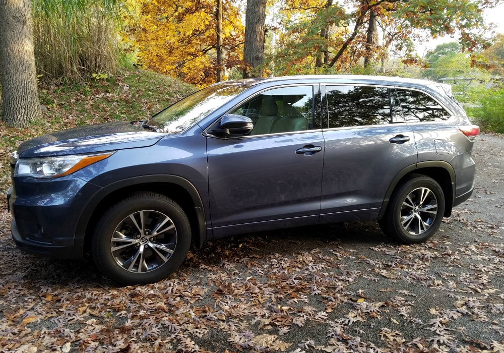 2016 Toyota Highlander Xle Best Suv For Teens